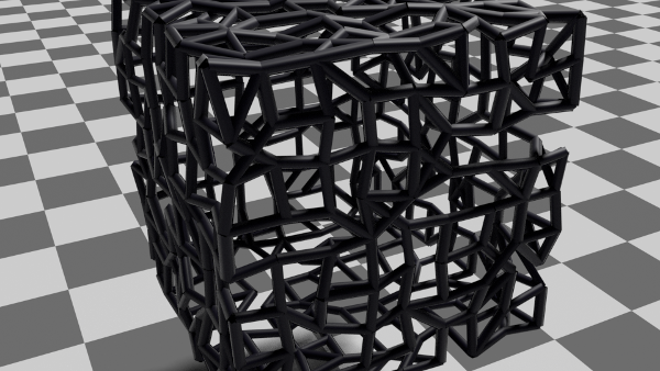 animation node cube cluster