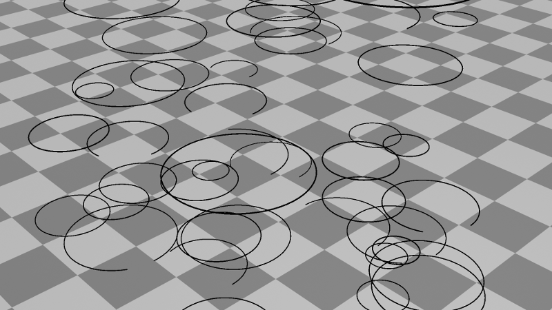 animated circles
