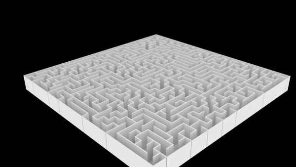 Blender Labyrinth AddOn