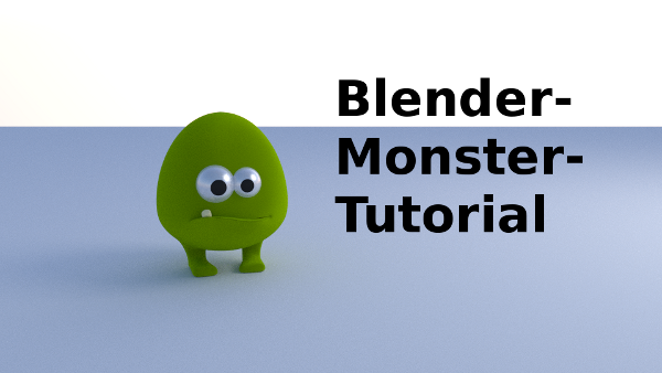 Blender Monster Tutorial