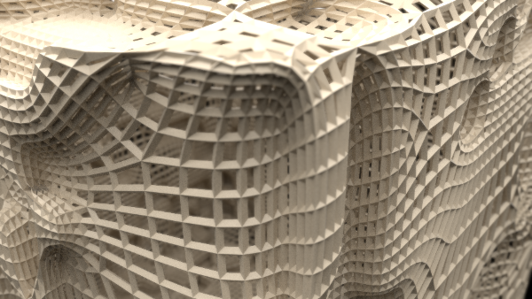 wireframe subdivide