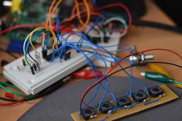 wired breadboard arduio