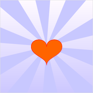 heart from bezier-curves