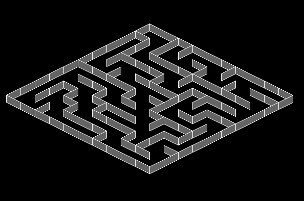 Isometric labyrinth
