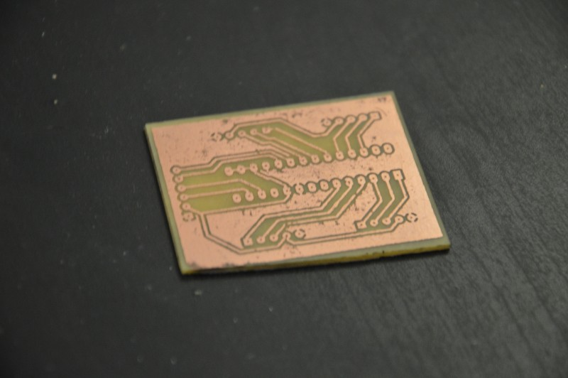 first pcb
