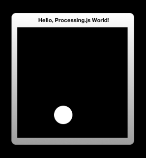 processing.js widget