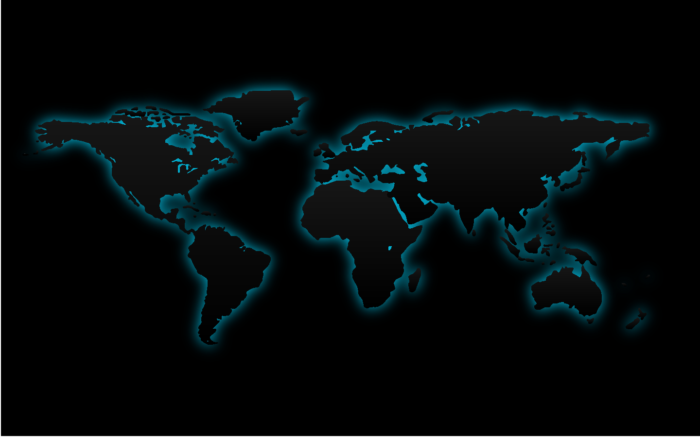 GuruBlog - Worldmap Desktop Image on