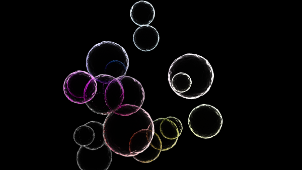 animation node bubbles