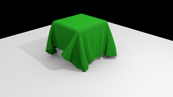 cloth simulation