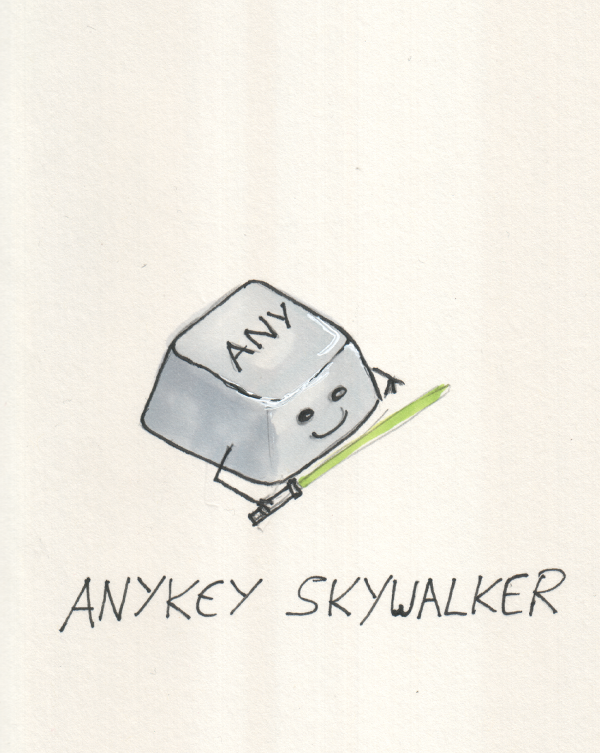 anykey skywalker