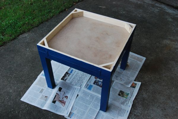 Gurublog Turning A Ikea Coffee Table Into A Beyblade Arena