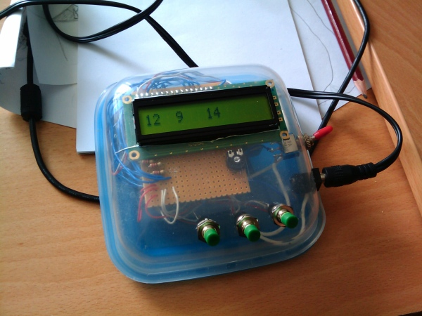 Guru adrduino counter with lcd display