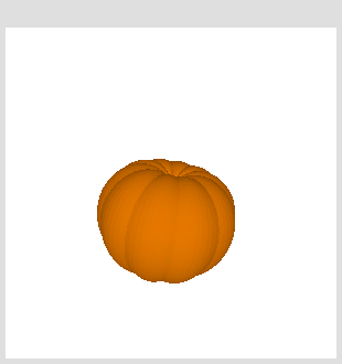 rotating pumpkin